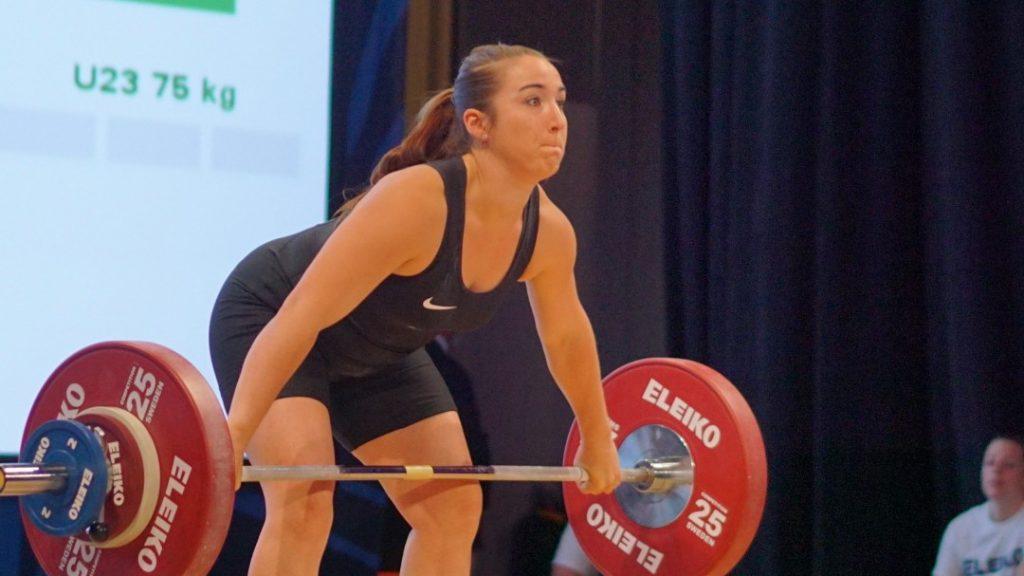 Samantha Kleinschmidt at the 2016 National Championships