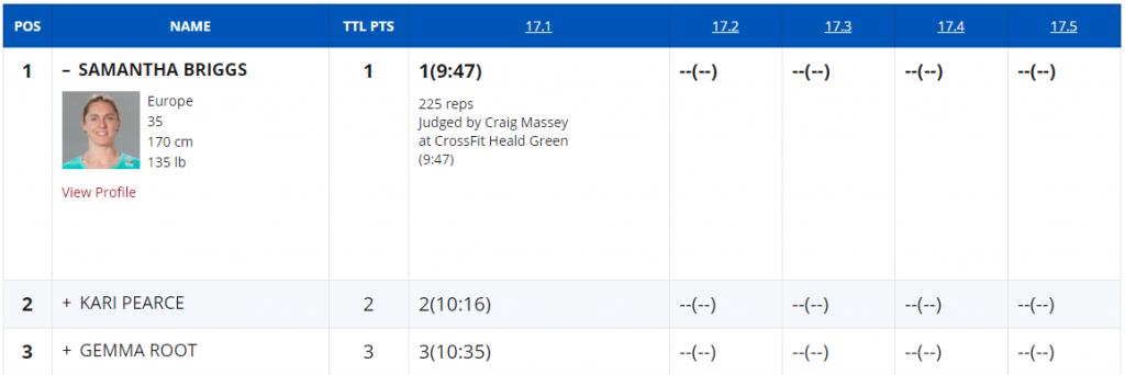 Sam Briggs Goes Sub-10 in 17.1