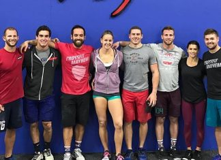CrossFit Mayhem Freedom with Danica Patrick and Ricky Stenhouse Jr.