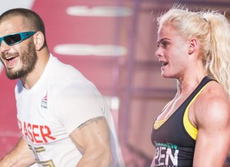 Mat Fraser and Sara Sigmundsdottir win the 2017 CrossFit Open