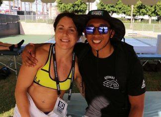 Justine Beath at 2016 CrossFit Games - via Instagram