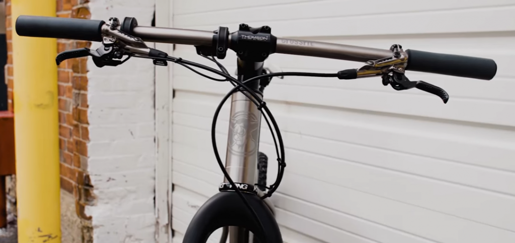 Pukie prominently featured on CrossFit's official bike