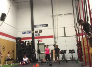 Alex Vigneault tears pec during CrossFit Regional practice