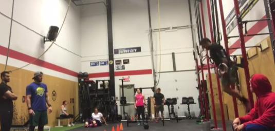 Alex Vigneault tears pec during CrossFit Regional practice