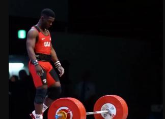 CJ Cummings wins gold at 2017 IWF Junior World Championships. @usa_weightlifting/Instagram
