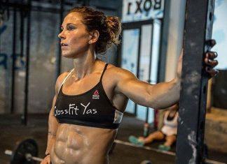Jamie Greene at CrossFit Yas. Via @jgreenewod/Instagram