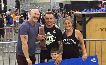 Ryan Elrod after qualifying for the CrossFit Games. @relrod57/Instagram