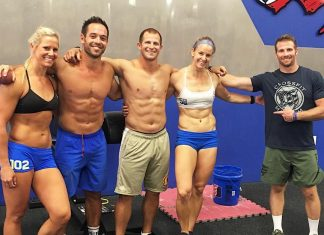 Five of the remaining members of CrossFit Mayhem Freedom. @crossfitmayhemfreedom/Instagram