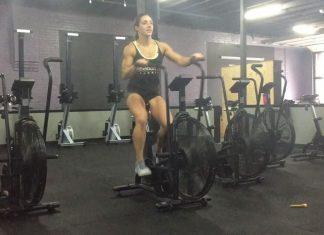 Kelley Jackson's 5 Stages of Assault Bike