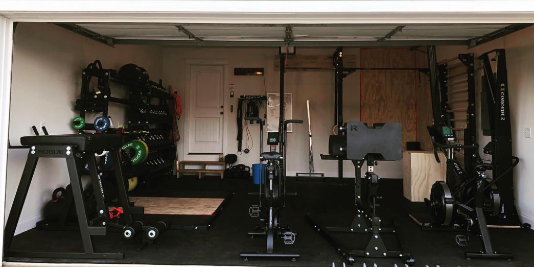 Mat fraser s garage gym is legit the barbell spin