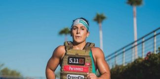 Tasia Percevecz at the 2016 CrossFit Games