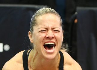Becca Voigt qualifies for 10th CrossFit Games after finishing 5th at the West Regional. Photo courtesy of CrossFit Inc.