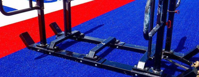 The 4-member team version of the Big Bob will be used at the 2018 CrossFit Games.