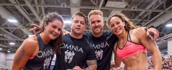 CrossFit Omnia at the 2018 CrossFit Games South Regional. Photo courtesy of CrossFit Inc.