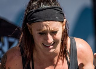 Rachel Campbell at the 2018 Wodapalooza Fitness Festival.