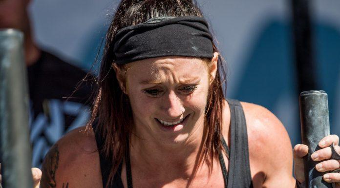 Rachel Campbell at the 2018 Wodapalooza Fitness Festival.