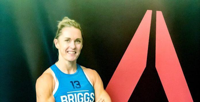 Sam Briggs prior to the 2018 CrossFit Games.