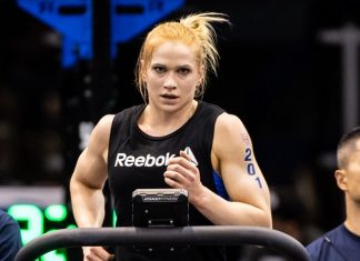 WE1 during the 2018 CrossFit Games Europe Regional event held May 18, 19 and 20 at the Berlin Velodrom,