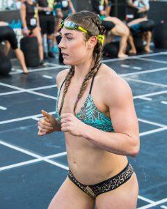 Brooke Wells at the 2018 Wodapalooza Fitness Festival.