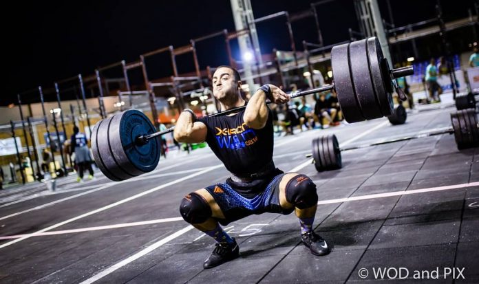 Lazar Dukic at the ELFIT competition in Egypt. Via Instagram @lazadjukic. Photo by WOD and PIX.