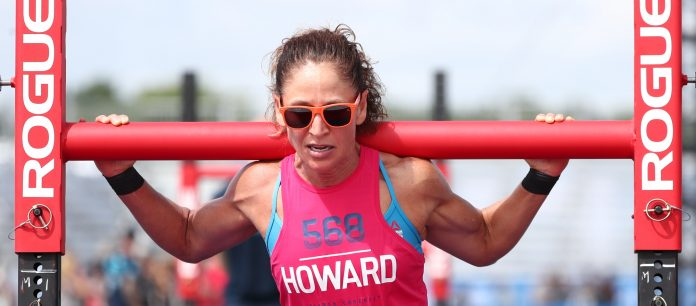 Yvonne Howard at the 2018 CrossFit Games. Photo courtesy of CrossFit Inc.