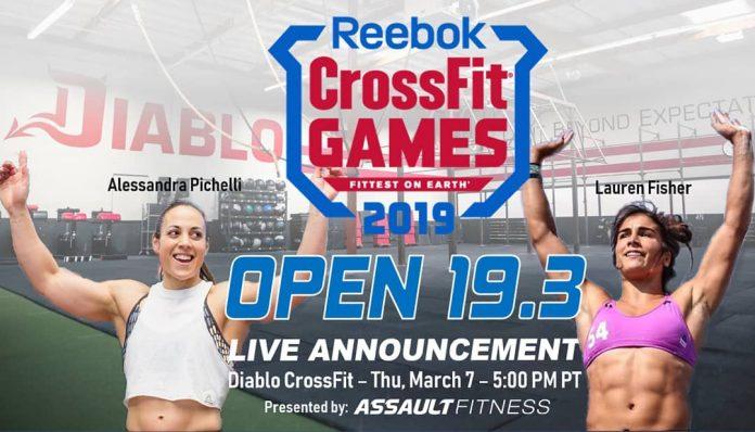 19.3 Live Announcement from Diablo CrossFit