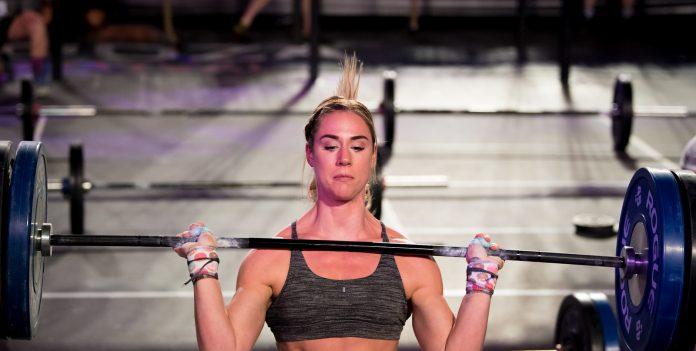 Brooke Wells at the 2018 Wodapalooza Fitness Festival. Photo courtesy of FL Sports Guy.