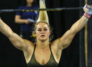 Dani Speegle at the 2019 Mid-Atlantic CrossFit Challenge. Photo by @athleteseyephotography