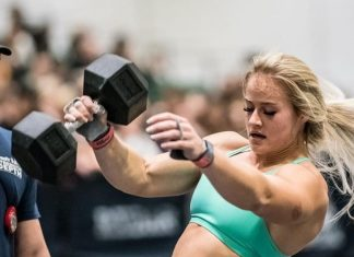 Dani Speegle at 2019 Strength in Depth Sanctional. Photo courtesy of WOD and PIX.