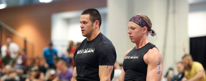 Team OC3 Black at the 2018 CrossFit Games Central Regional. Photo courtesy of CrossFit Inc.