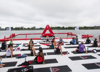 Reebok Fit Barge at the 2018 CrossFit Games.