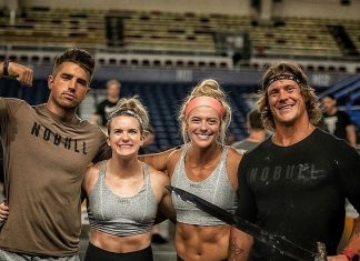Team Invictus X at the Mid Atlantic CrossFit Challenge. Photo via Instagram, @channybananny