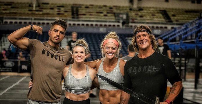 Team Invictus X at the Mid Atlantic CrossFit Challenge. Photo via Instagram, @channybananny