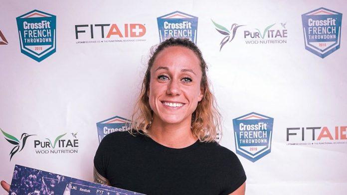 Sabrina Caron at the CrossFit French Throwdown