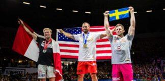 2018 CrossFit Games mens podium. Photo courtesy of CrossFit Inc.