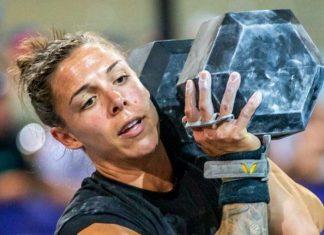 Meg Reardon at the 2019 CrossFit French Throwdown. Photo via Instagram/@megg_a_tron