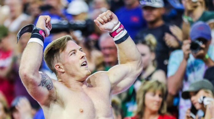 Noah Ohlsen at the 2018 CrossFit Games. Photo courtesy of Anthony Lucic, @antlucic
