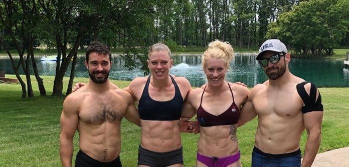 OC3 Black. Left to right: Luke Schafer, Taylor Williamson, Andrea Nisler, Joe Piersanti