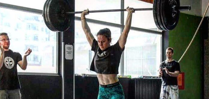 Viki Ristoska denied visa to compete at 2019 CrossFit Games. Photo via Instagram/@vristoska