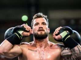 Willy Georges at the 2019 CrossFit French Throwdown. Photo via @wodandpix