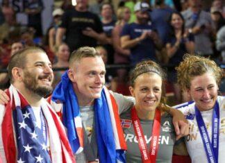 2019 CrossFit Games podium