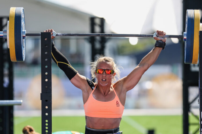 Anna Tobias at the 2019 CrossFit Games.