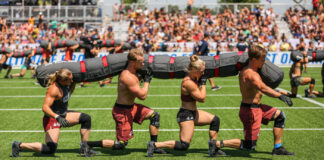 CrossFit Vondelgym at the 2019 CrossFit Games.