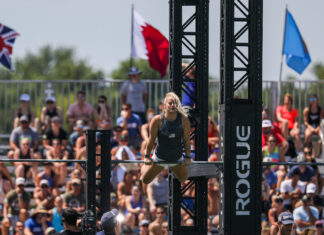 Dani Speegle at the 2019 CrossFit Games.