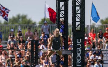Dani Speegle at the 2019 CrossFit Games.