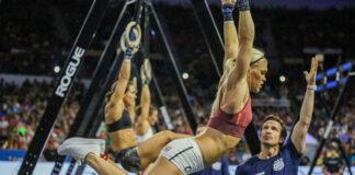 Katrin Davidsdottir at the 2019 CrossFit Games.