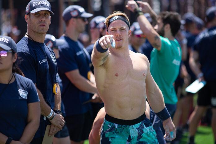 Noah Ohlsen at the 2019 CrossFit Games.