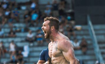 Sean Sweeney at the 2019 CrossFit Fittest in Cape Town. Photo via Facebook/@fittestincapetown