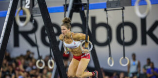 Tia-Clair Toomey at the 2019 CrossFit Games