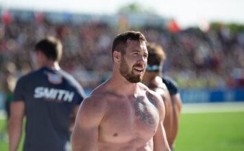 Sean Sweeney at the 2019 CrossFit Games.